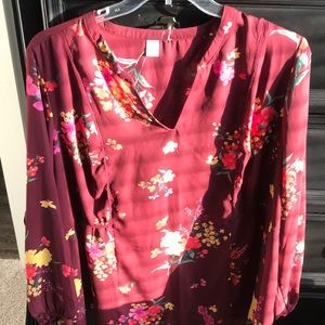 Size 3x blouse. Gently worn